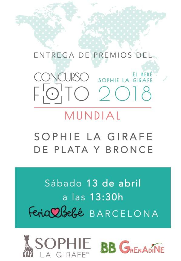 ENTREGA DE PREMIOS SOPHIE GIRAFFE 2018